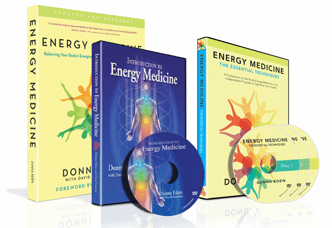 The Complete Energy Medicine Package (Book & DVDs)